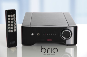 Brio with remote and text